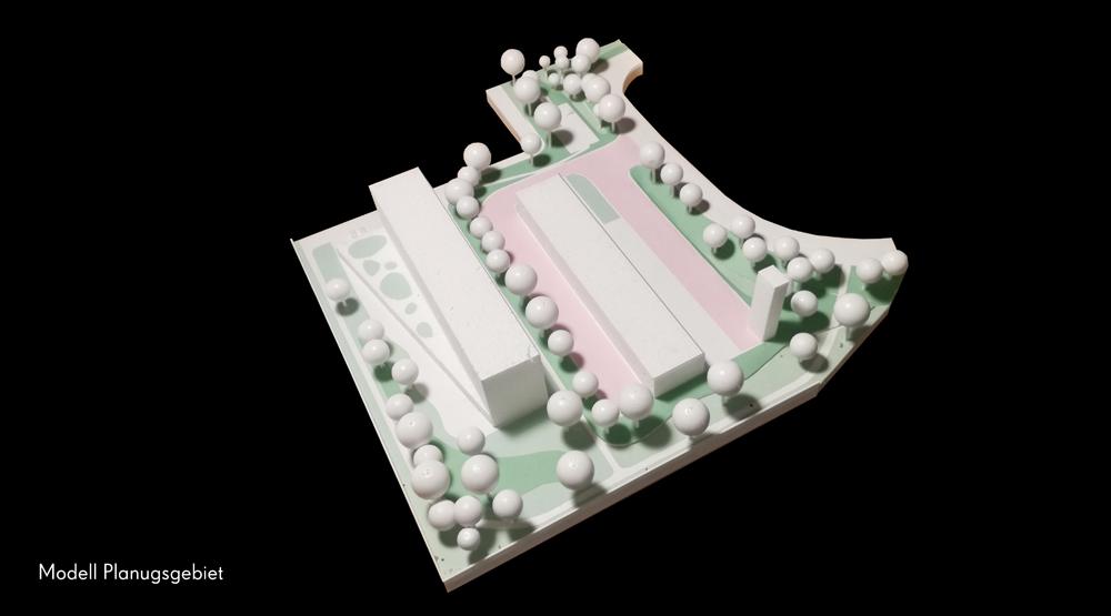 Modellfoto Planungsgebiet
