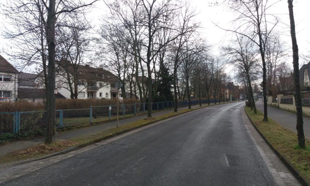 Aachener Straße in Richtung Innenstadt