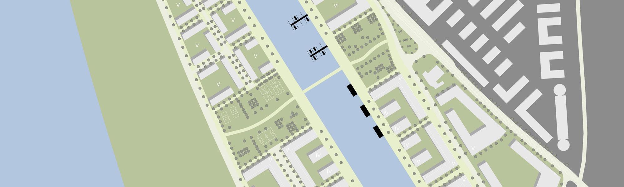 Titelbild Deutzer Hafen Köln: Ausschnitt Lageplan