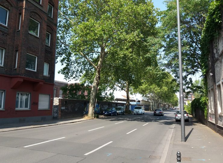 Lindgens-Areal Köln-Mülheim - Foto Deutz-Mülheimer Straße