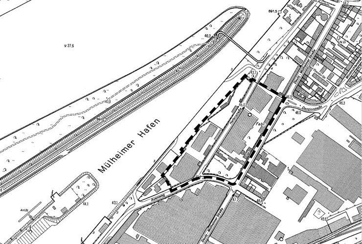 Geltungsbereich B-Plan Lindgens-Areal - Frühzeitige Beteiligung