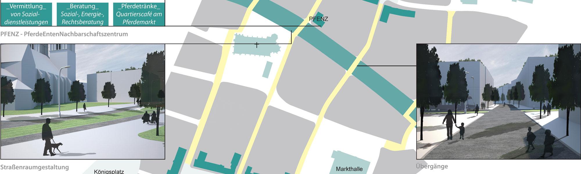 Titelbild NAT-UR-BAN Kassel: Ausschnitt Lageplan
