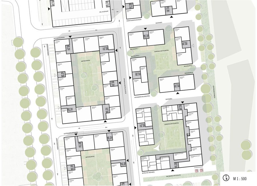 Wettbewerb Kamp-Lintfort: Planungslupe 2