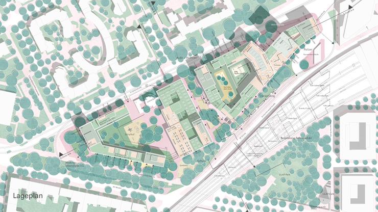 ULAP-Quartier: Lageplan