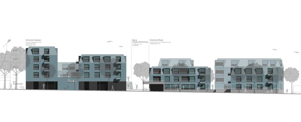 Fassadenansicht Schlossallee
