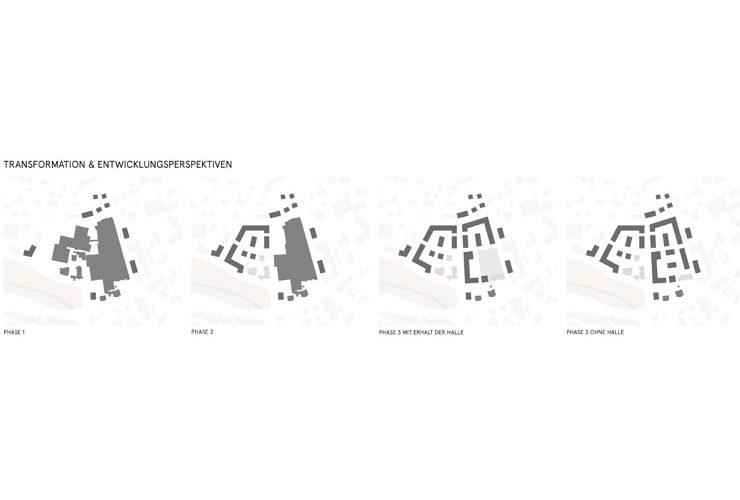 Wettbewerb Bad Hersfeld Wever-Areal - Piktos Transformation
